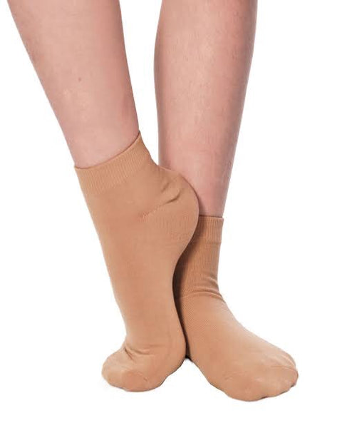 Tan Dance Socks