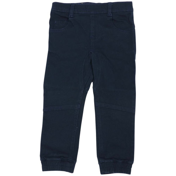 Navy Stretch Twill Chino Pants