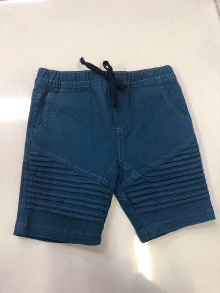 Blue Nautical Shorts