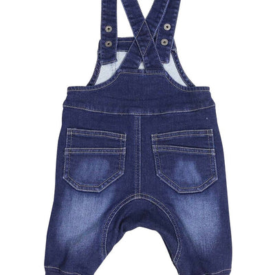 Korango Denim Knit Overall