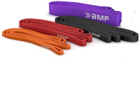 Pk of 4 BMF Branded Powerbands