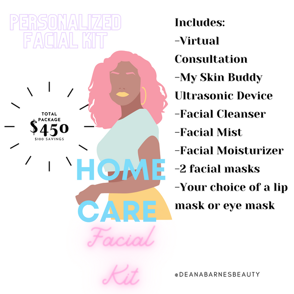 Get Your Personalized Home Facial Kit
