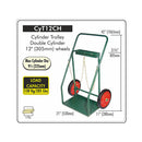 "Cylinder Cart 12"" Wheels (CYT-12CH)"