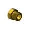 Inlet Nut Fitting CGA-580 N-73 Argon Helium Nitrogen Compatible to Western 92