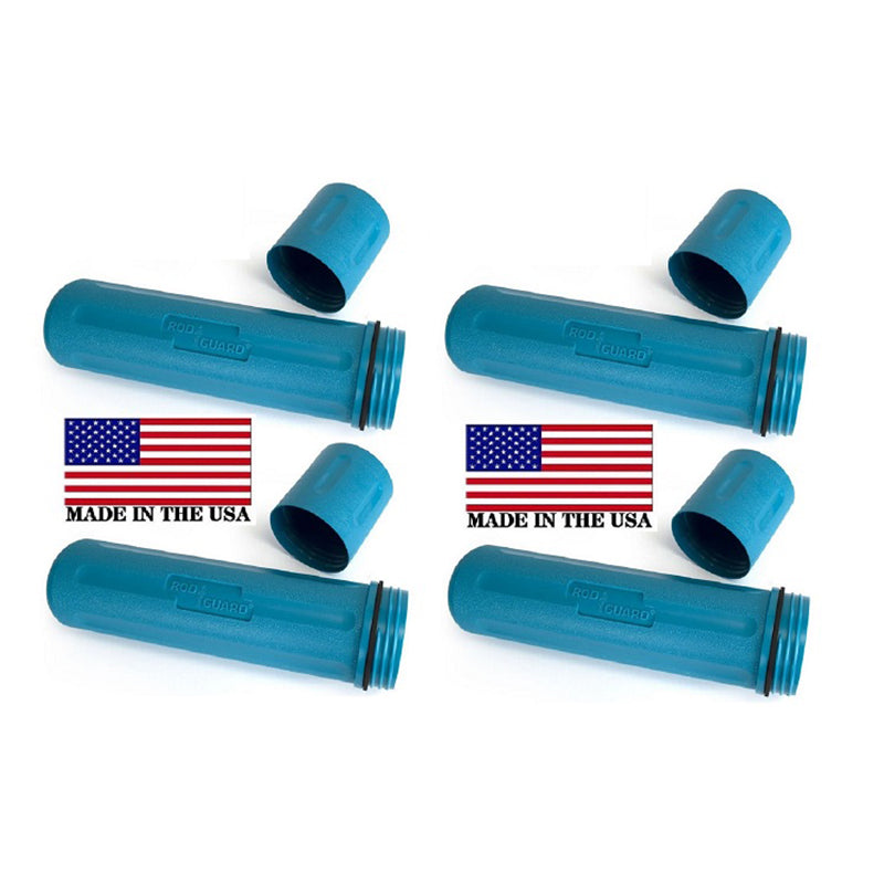 "Rod Guard® Stick Welding Electrode Storage Canister 14"" hold 10Ibs BLUE RG100"