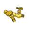 Oxygen Y with Valves YV-50 Compatible with Western 111 Male RH B Size
