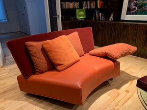 SET OF 2 COMPANION BAKU STYLE SOFAS DESIGNED BY NIELS BENDTSEN FOR MONTIS