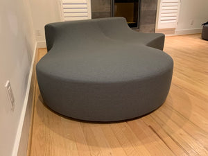 "MINOTTI ""HOCKNEY"" SOFA ITALIAN DESIGN BY RODOLFO DORDONI IN SLATE GREY"