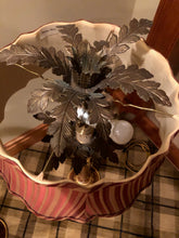 Load image into Gallery viewer, CHELSEA HOUSE ACANTHUS LEAF 2 BULB TABLE LAMP