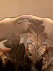 CHELSEA HOUSE ACANTHUS LEAF 2 BULB TABLE LAMP
