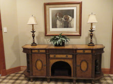 Load image into Gallery viewer, LARGE ITALIAN TUSCAN STYLE BUFFET SERVER IN MIXED WOOD TONES