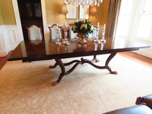 Load image into Gallery viewer, FERGUSON COPELAND BLENHEIM RUBBERWOOD - OLIVE ASH BURL WOOD 11' DINING TABLE