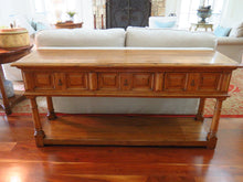 Load image into Gallery viewer, GUY CHADDOCK FRENCH COUNTRY ENGLISH WEMBLEY SERVER OR CONSOLE TABLE
