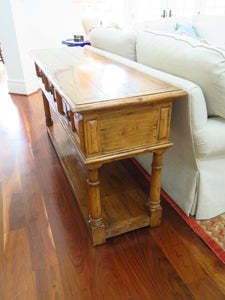 GUY CHADDOCK FRENCH COUNTRY ENGLISH WEMBLEY SERVER OR CONSOLE TABLE