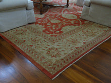 Load image into Gallery viewer, 100% WOOL HAND KNOTTED PAKISTAN FLORAL PATTERNED AREA RUG