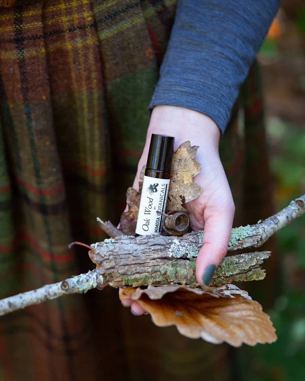 Oak Wood Botanical Perfume