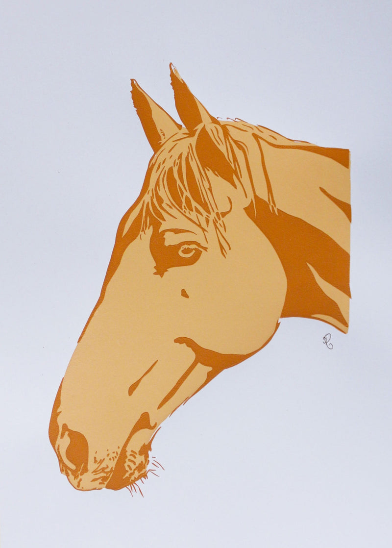 'Magic the Stockhorse' Screenprint