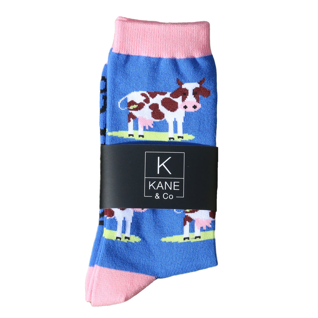 Coleman Cow Socks