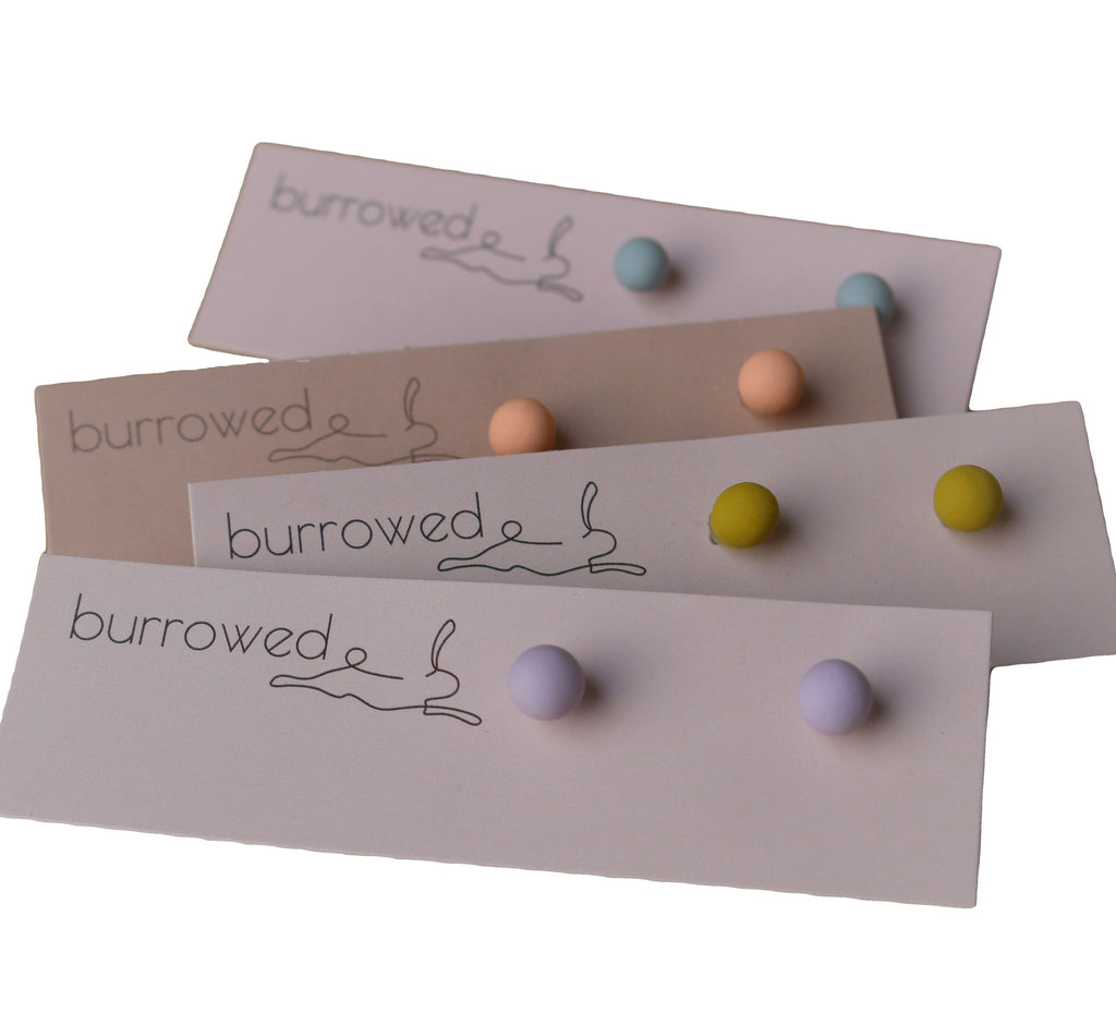 The Seed Collection - Earrings by Burrowed