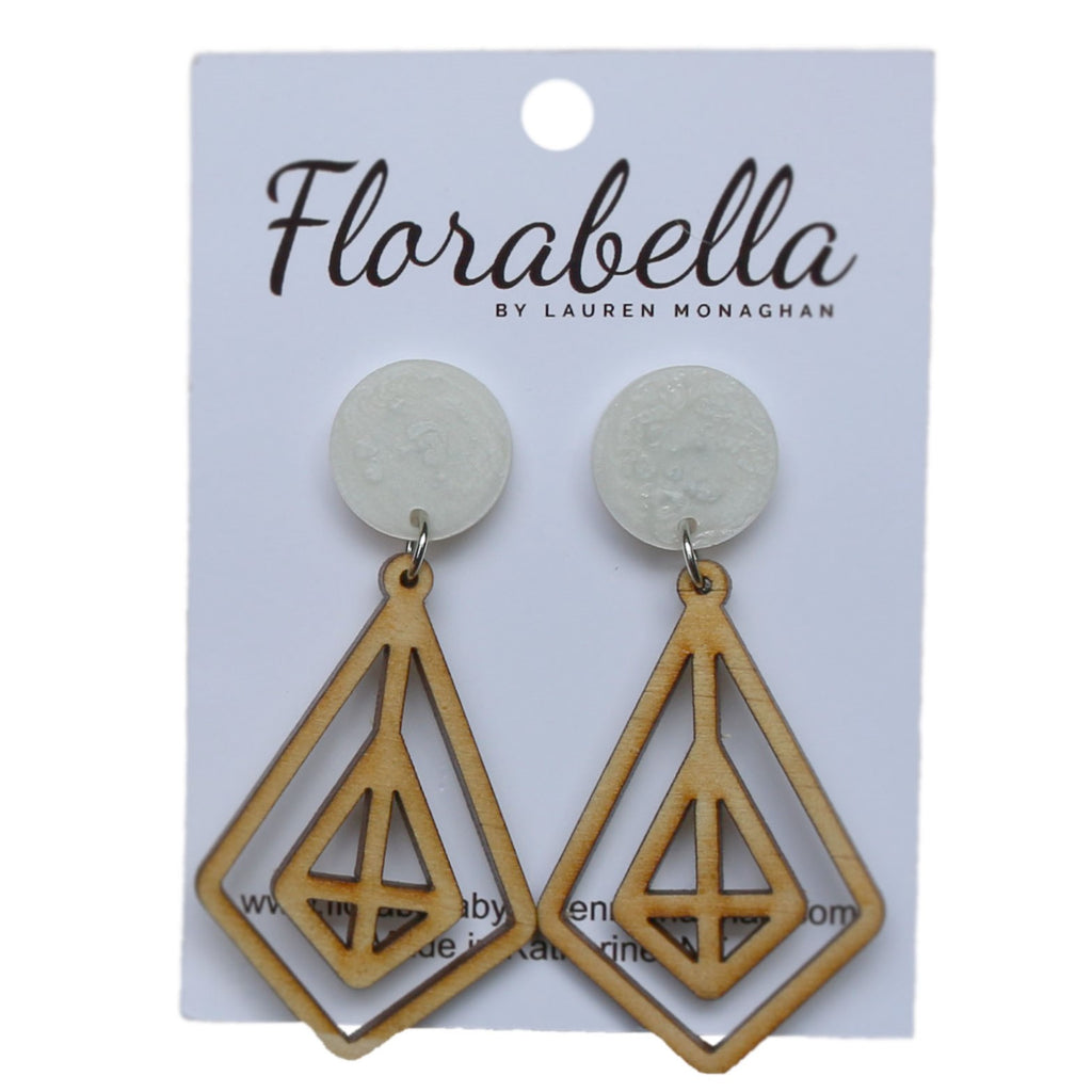 Florabella Natural Timber Dangle
