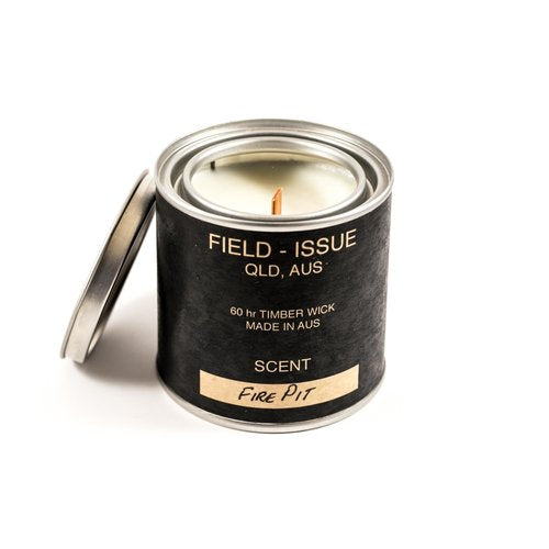 Soy Waxed Candle - Fire Pit