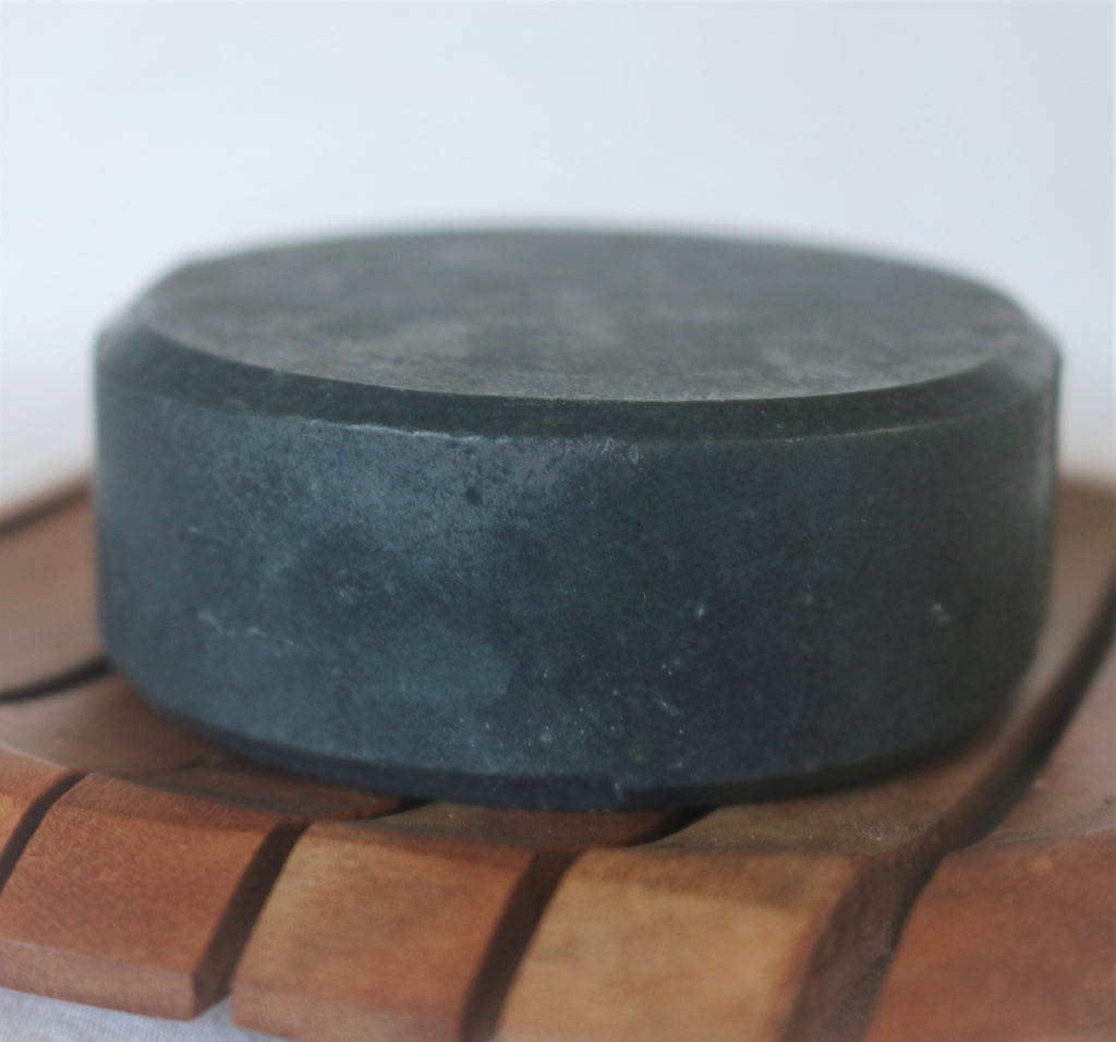 Handmade Charcoal Goat Milk Soap (Unscented)