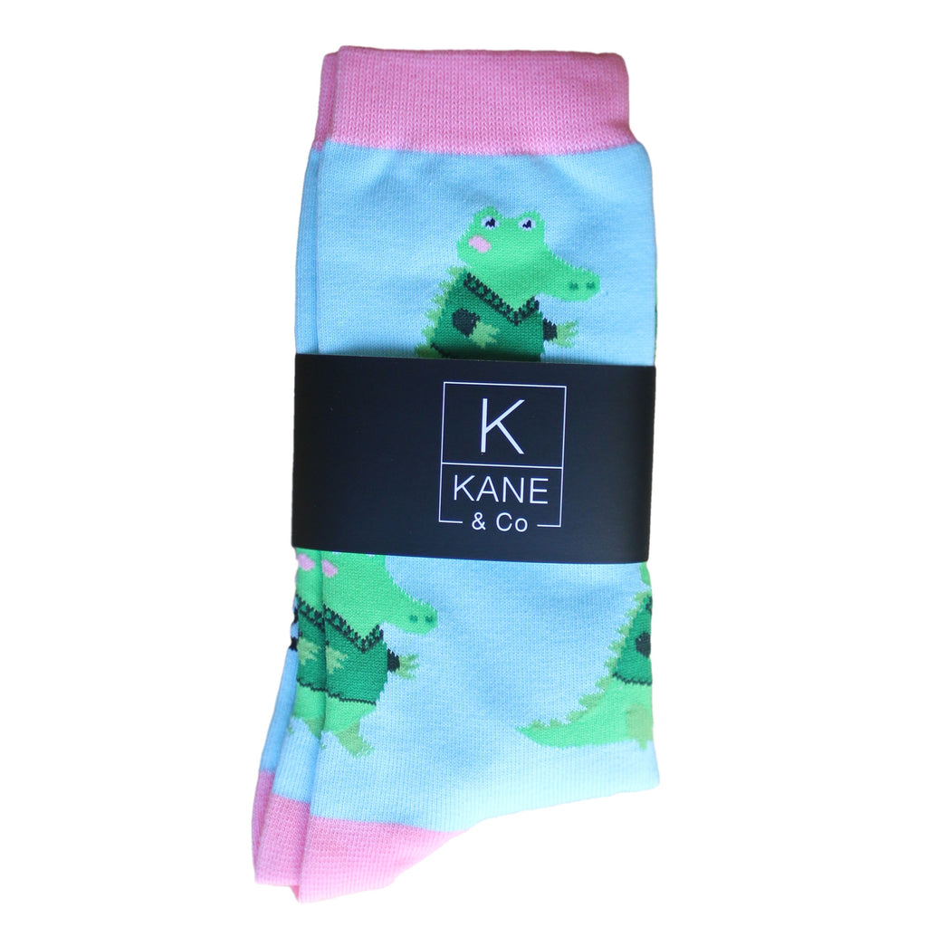 Cobi Crocodile Socks
