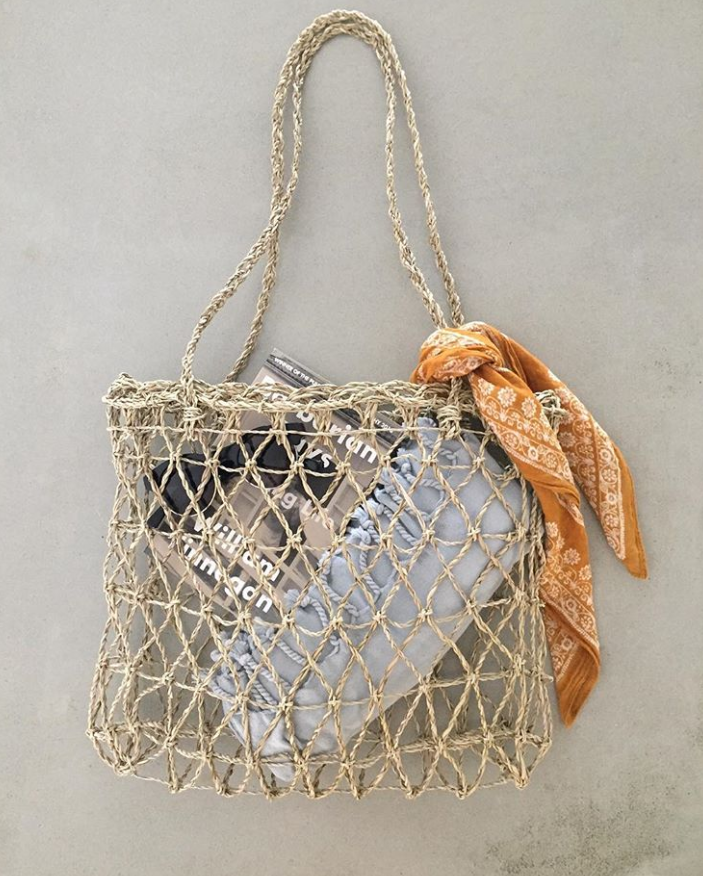 The Fishnet Tote