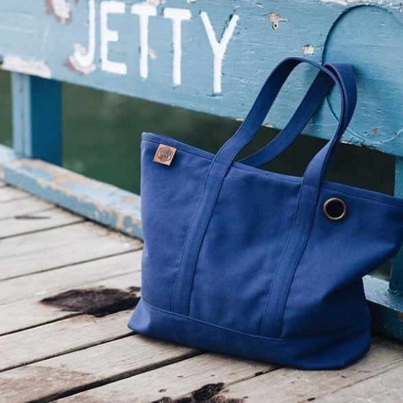 The Boat Bag- Navy