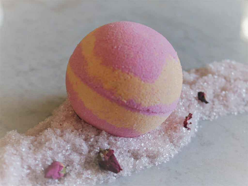 Peach Goats Milk Bath Bomb