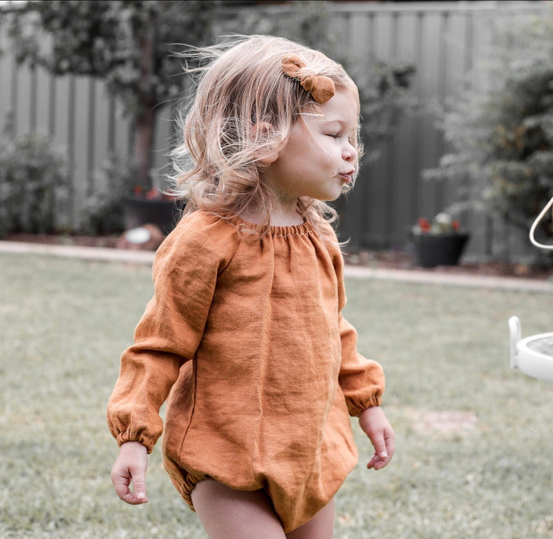 Evie Long Sleeve Romper