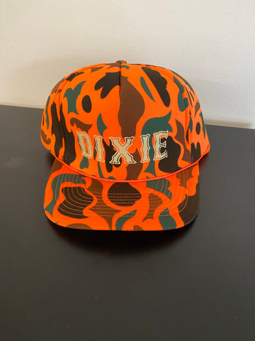 Dixie 5 Panel Foam Camo Trucker