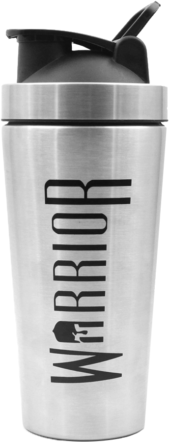 Warrior Steel Shaker - 800ml