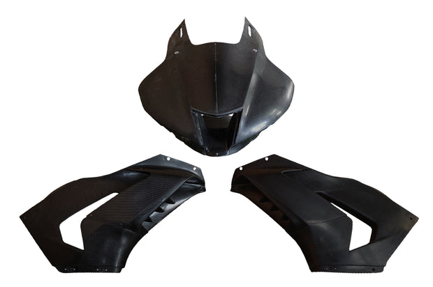 CBR1000RR-R / UPPER & MIDDLE COWLING CFRP