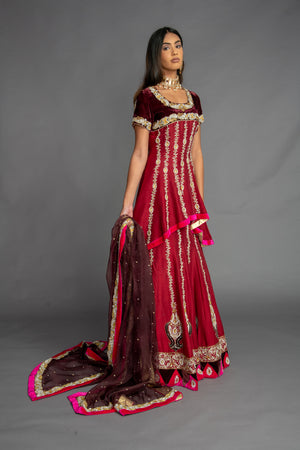 Load image into Gallery viewer, Sohini Bridal Lengha