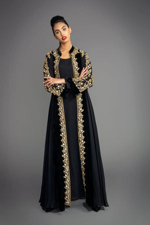Load image into Gallery viewer, Katrina Velvet Maxi Coat