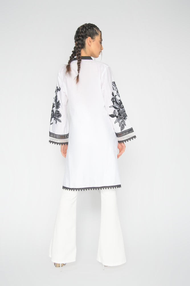 White Ehlam Top