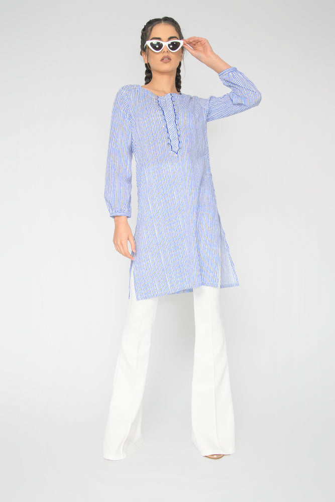 Load image into Gallery viewer, Jaipur Stripe Shirt