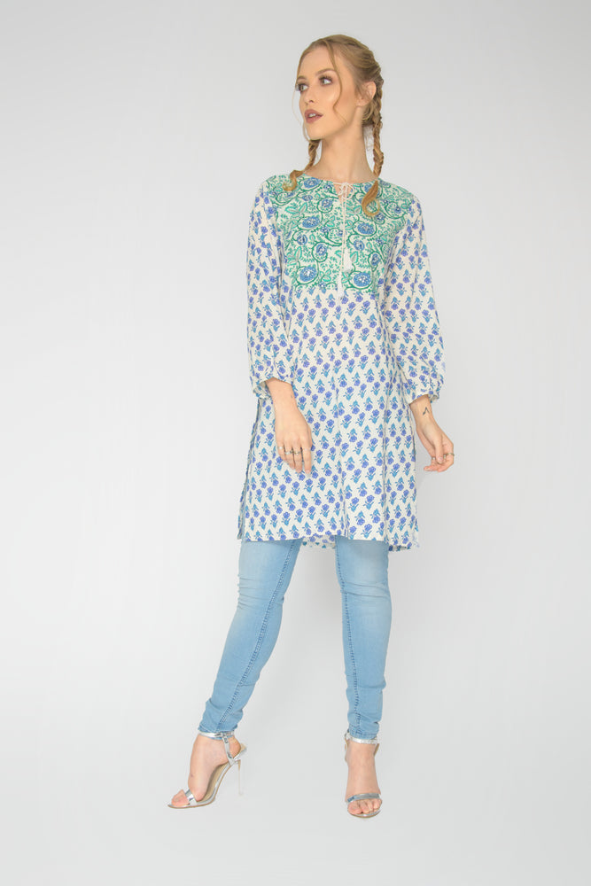 Jaipur Patch Tunic