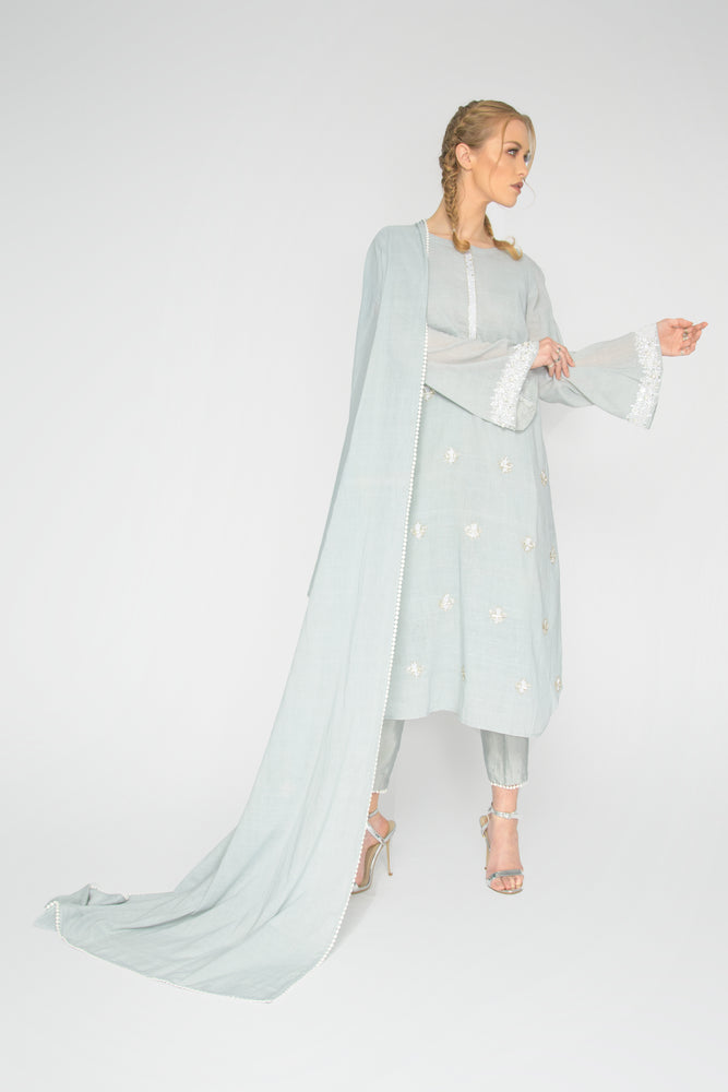 Load image into Gallery viewer, Blue Elsa Suit