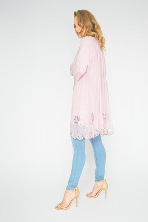 Load image into Gallery viewer, Pink River Raglan Top