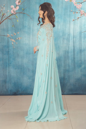 Atika Dress Blue