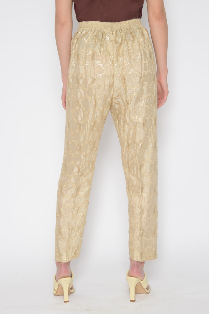 Load image into Gallery viewer, Mannat Sequin Trousers