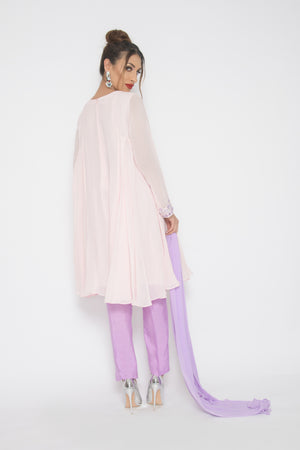 Load image into Gallery viewer, Madiha Tunic Suit