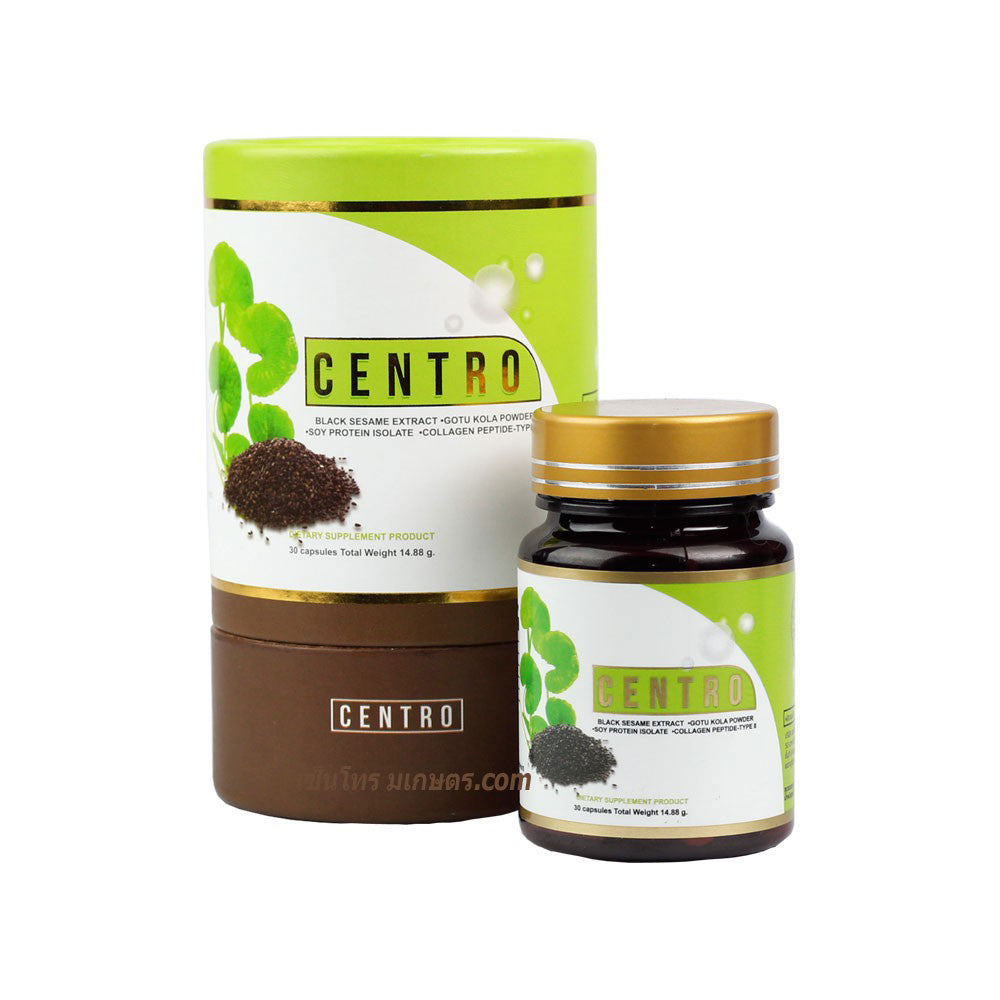 CENTRO Black Sesame Extract Knee Care 30 Tablets 14.88g. (4 pcs.)