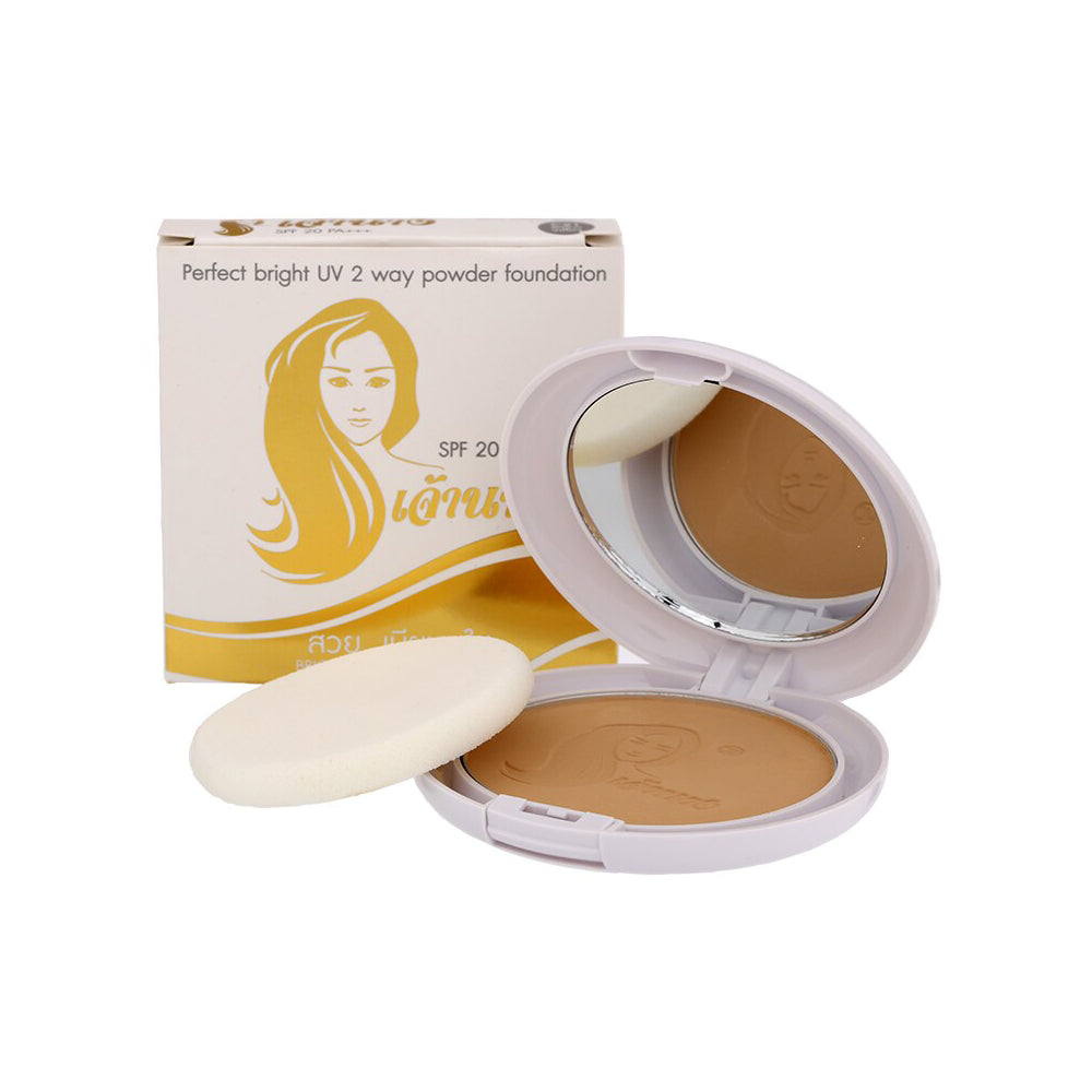 Chaonang Perfect Bright 2 Ways Powder Foundation No.C21 10g.