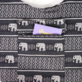Thai Style Classic Tote Bag, Elephant Collection, Multi Purpose Bag