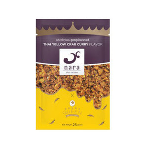 Drama Queen Thai Crispy Chilli Yellow Crab Curry Flavor 25g. (12 packets)