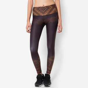 Fitz Long Legging Henna