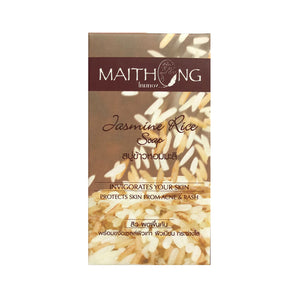 Mai Thong Jasmine Rice Soap, Invigorates Your Skin (3.52 oz)
